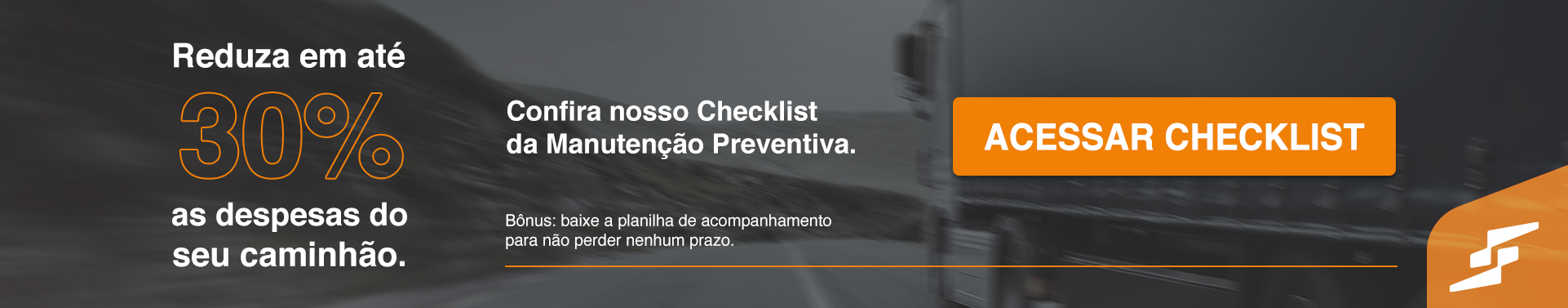Checklist da Manutenção Preventiva