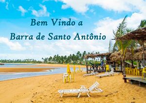 Barra de Santo Antônio – AL e suas famosas falésias