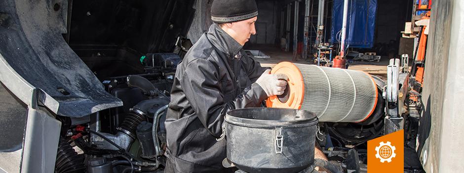 Conheça mais sobre produtos essenciais para seu bruto. Filtros de lubrificante e combustível.