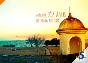 Macapá, a capital do meio mundo completa 258 anos!