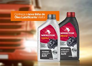 Meritor lança nova linha de lubrificantes