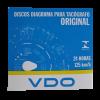 DISCO TACÓGRAFO DIÁRIO 125KM